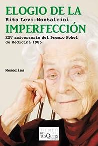 Elogio de la imperfección par Rita Levi-Montalcini