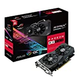 Asus ROG-STRIX-RX560-O4G-GAMING Carte graphique AMD Radeon RX 560 OC 4 Go Bus PCI-E 3.0 x 16