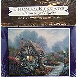 Thomas Kinkade Painter of Light 100pc. Miniature Puzzle-Chandler's Cottage