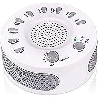 White Noise Sound Machine Tragbare Schlaf Sound Therapie Maschine mit 3 Timern & 9 Natürlichen Sound Optionen... preisvergleich bei billige-tabletten.eu