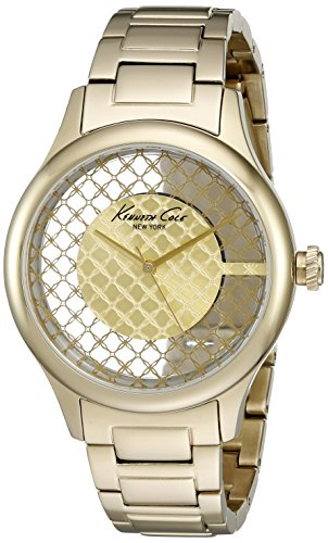 kenneth-cole-new-york-womens-transparency-quartz-stainless-steel-dress-watch-model-10026010