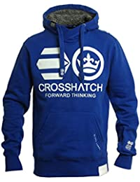 Crosshatch Men's Blankouts Borg Lined Sweatshirt Hoodie