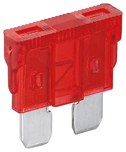 Fixpoint 20382 Kfz-Sicherungssortiment, 10 A, Rot (6-er pack) (Honda Accord Alarm)