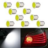 COB 12V P21W Brake Light LED Bulb BA15S 1156 Xenon White...