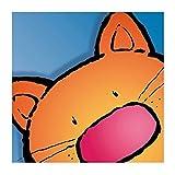 Jean Paul – Surpise-Cat Poster Drucken (29,85 x 29,85 cm)