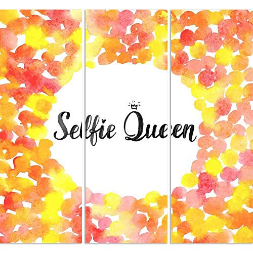 ArtzFolio Selfie Queen Split Art Painting Panel On Sunboard 25.3 X 24Inch (Queen-size-split-box)
