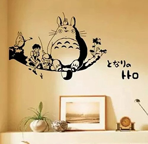 Anime Cosplay il mio vicino Totoro Wall Sticker Cartoon Wall ...