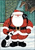 Advent Calendar - Bloomin' Xmas (WDM3787) - Santa and Dog