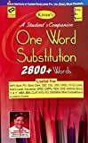 A Student's Companion - One Word Substitution(English), 2800+ Words, Book Code: 1519