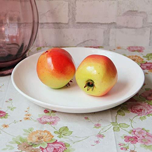 APOO Real Touch 1: 1 Artikel Künstliche Granatapfel Schaum Gefälschte Obst Großen Granatapfel Film Requisiten Kind Requisiten Dekoration Spielzeug Liefert Decor, A 2 stücke -