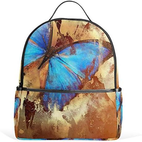 COOSUN COOSUN COOSUN Sac à dos papillon école légère toile Cartable pour les garçons filles enfants Multicolore B078MH61GG c7a105