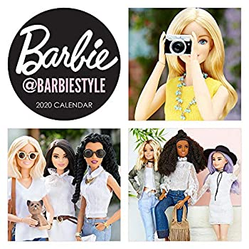 Barbie @barbiestyle 2020 Calendar