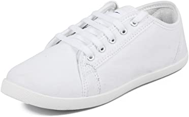 Asian Shoes SPICY 51 White Women's Casual Shoes