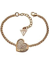 Guess Damen Armband Metall weiß UBB114_6