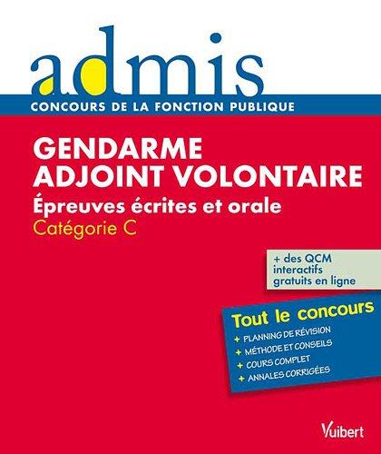 Concours gendarme adjoint volontaire écrit oral c...