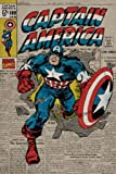 Marvel - Captain America - Retro 61 x 91 cm Affiche