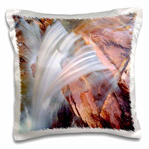 Danita Delimont - Waterfalls - USA, Arizona, Sedona Waterfall. - 16x16 inch Pillow Case (pc_206362_1)