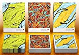 EPCC Pollock Art Jugando a Las Cartas Playing Cards 3 Deck Set Cardistry, Artistry & Borderless Luxury Poker Decks