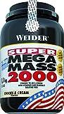Weider MEGA MASS 2000 1,5 kg, Cookies & Cream