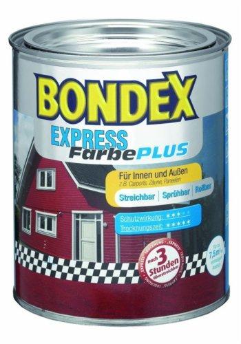 BONDEX Express Farbe 275 Silbergrau 750 ml
