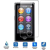 iPod nano 7th Generation Cristal Templado,Vikoo 9H 2.5D 0.26m Ultra Delgado Shatterproof Protector de pantalla de Vidrio Templado HD Flim Tempered Glass Screen Protector para iPod nano 7th Generation