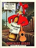 RetroArt Tio Pepe, Sherry, Drinks Advert, 1950s (30x40cm Art Print)