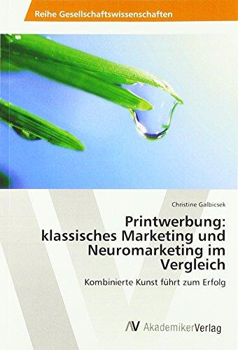 Printwerbung: klassisches Marketing und Neuromarketing im Vergleich: Kombinierte Kunst führt zum Erfolg
