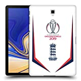 Head Case Designs Ufficiale International Cricket Council Bat England Cricket World Cup Cover Retro Rigida per Samsung Galaxy Tab S4 10.5 (2018)