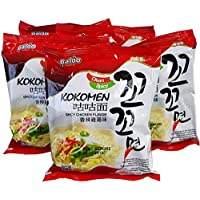 Kokomyun Hot Spicy Chicken Soup Noodle Ramen 4.23 Oz X 5 Packs