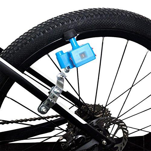 PerGrate Generatore mobile per bicicletta, 5 V, 1 A, 1000 mAh, batteria integrata, Blau