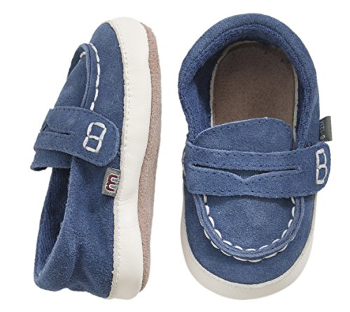MOVE BY MELTON Suede shoe, Sailor, Hausschuh, Chaussures souple pour bébé (garçon)