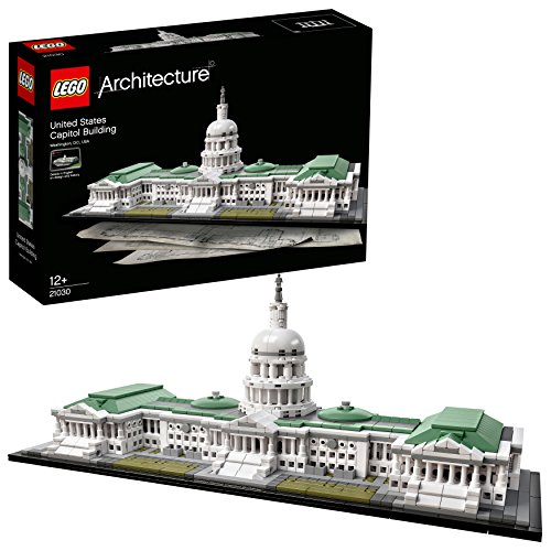 LEGO Architecture 21030 Das Kapitol, Bauspielzeug -