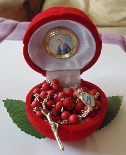 Duftenden Rosenkranz (Rosenkranz aus Rosenholz -duftend)