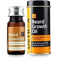 Ustraa Beard Growth Oil - 35ml - More Beard Growth, With Redensyl, 8 Natural Oils including Jojoba Oil, Vitamin E…