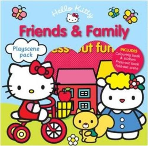 Hello Kitty Playscene Pack: Friends and Family (Playscene Packs) (Hello Kitty Travel Kit)