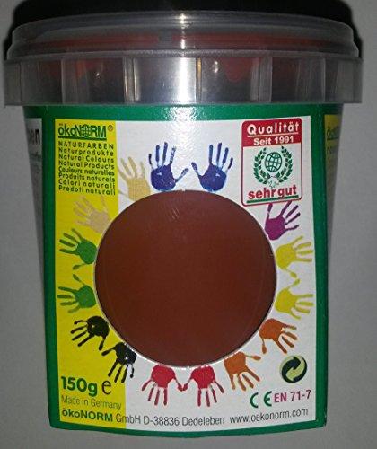 Peinture au doigt ÖkoNORM Nawaro - Marron - 150 g