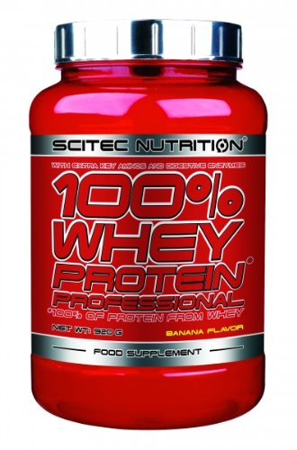 Scitec Nutrition 100% Whey Protein Professional 920 g Banane