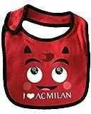 Bavaglino Bavetta Neonato Prima Infanzia AC Milan PS 12714