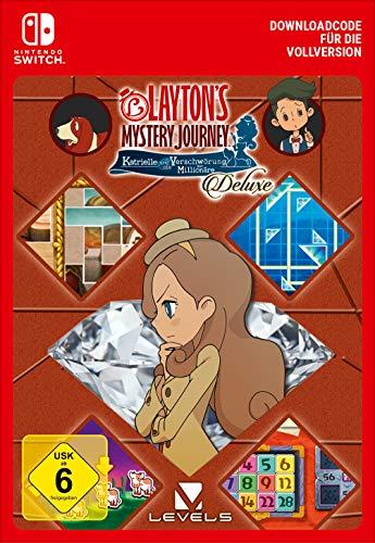 LAYTON'S MYSTERY JOURNEY: Katrielle und die Verschwörung der Millionäre - Deluxe | Nintendo Switch - Download Code