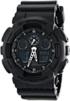 Casio Mens Quartz Watch, Analog-Digital Display and Plastic Strap