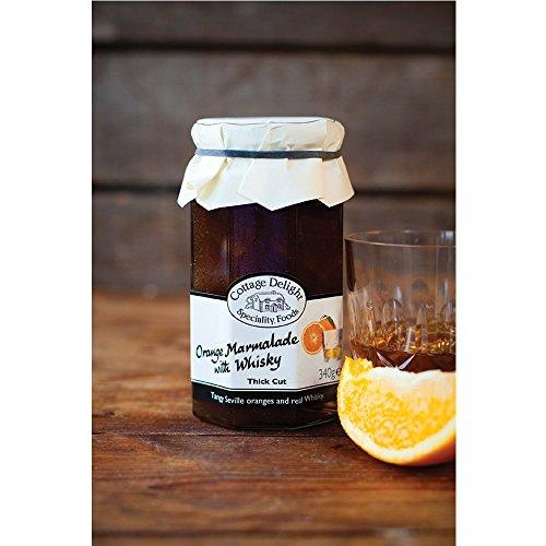 Cottage Delight - Thick Cut Orange Marmalade - with Whisky - Cottage Frühstück