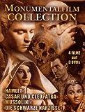 Momumentalfilm Collection in Sammler Digibox - Hamlet - Mussolini - Die schwarze Narzisse - Cäsar und Cleopatra [3 DVDs] - Vivien Leigh, Henry Fonda