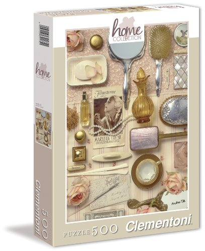 Clementoni - 30404-Puzzle 500p home collection - ladies-Puzzles