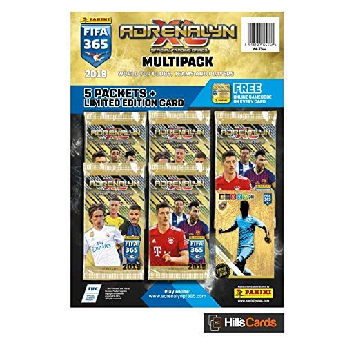 FIFA 365 Adrenalyn XL 2019 Trading Card Multipack