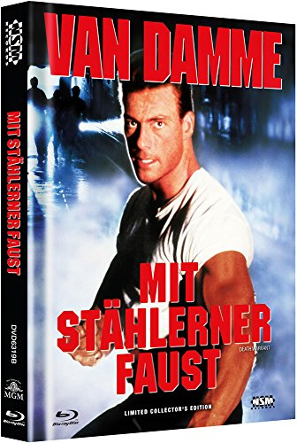 Mit stählerner Faust - uncut (Blu-Ray+DVD) auf 999 limitiertes Mediabook Cover B [Limited Collector's Edition]