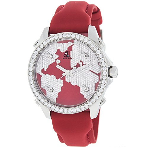 jacob-et-company-five-time-zone-diamant-continent-cadran-rouge-unisexe-montre