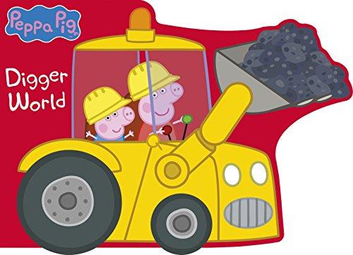 Peppa Pig: Digger World (Monster Truck Board Book)