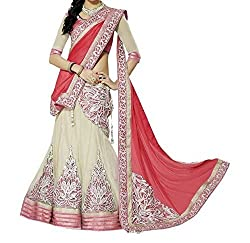 Womens Georgette Lehenga Choli(Sky_247)