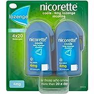 Nicorette Cools 80 Lozenges, 4 mg (Stop Smoking Aid)
