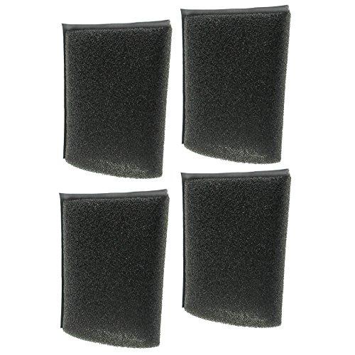 Spares2go Schaumstofffilter für Kärcher Staubsauger, 4 Stück